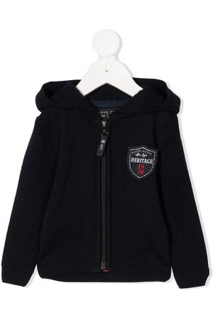 Lapin House Logo patch hoodie