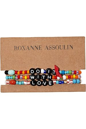 Roxanne Assoulin Do It With Love camp bracelets