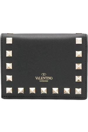 VALENTINO GARAVANI Rockstud compact wallet