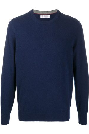 Brunello Cucinelli Round neck fine knit jumper