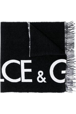 Dolce & Gabbana Logo intarsia scarf