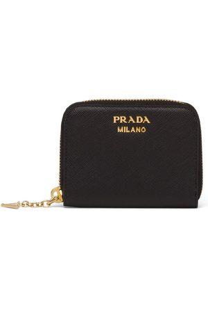 Prada Logo-plaque coin purse