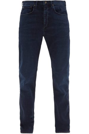 RAG&BONE Slim-leg Cotton-blend Jeans - Mens - Dark