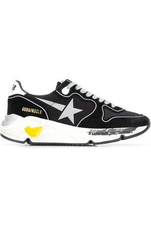 Golden Goose Running Sole panelled sneakers