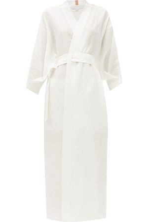 Lunya Resort Linen-blend Robe - Womens