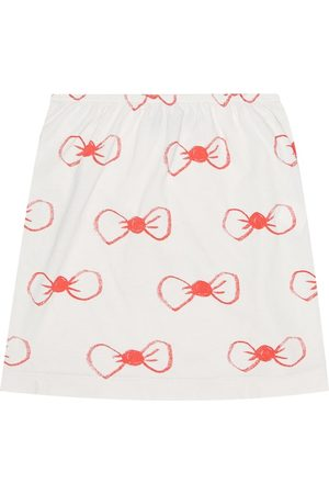 The Animals Observatory Printed cotton-jersey skirt