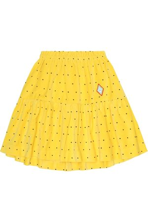 The Animals Observatory Bird polka-dot cotton skirt