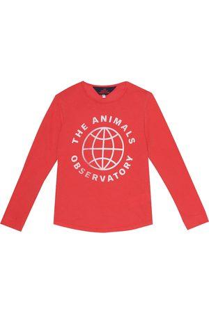 The Animals Observatory Tao logo cotton-jersey T-shirt