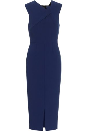 Roland Mouret Tikal stretch-crêpe midi dress