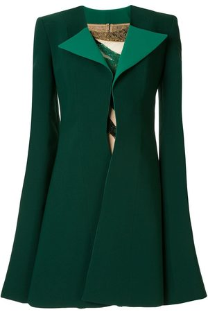 Saiid Kobeisy Colour-block fitted mini dress