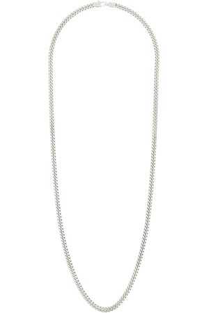 Tom Wood Men Necklaces - Long curb chain necklace - METALLIC