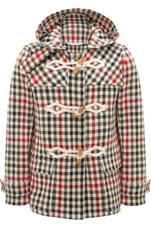 J.W.Anderson Checked duffle coat