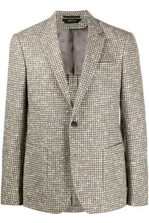 Z Zegna Bouclé wool blazer - Neutrals