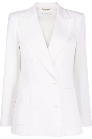 Alberta Ferretti Double-breasted fitted jacket