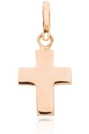 GIGI CLOZEAU 18kt rose solid cross charm