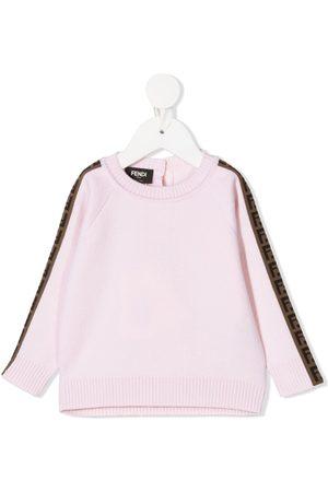 Fendi Sweaters - FF trim jumper