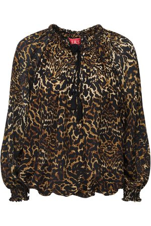 F.R.S For Restless Sleepers Print Silk Crepe Shirt