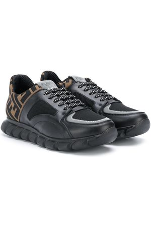 Fendi TEEN FF trim sneakers