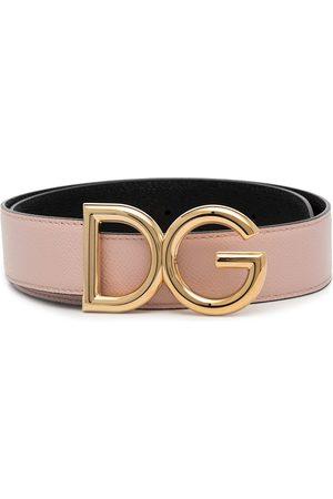 Dolce & Gabbana Reversible DG logo belt