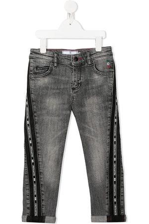 Philipp Plein Iconic Plein straight-leg jeans - Grey