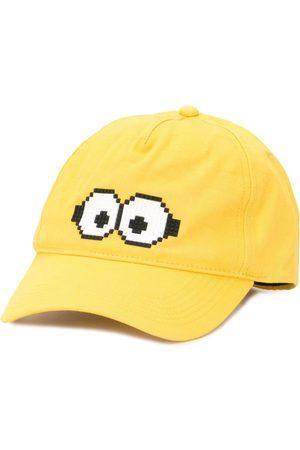 MOSTLY HEARD RARELY SEEN Caps - X Minions Tiny Goggles 8-Bit baseball cap