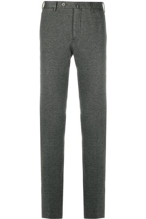 PT01 Knitted slim-fit trousers - Grey