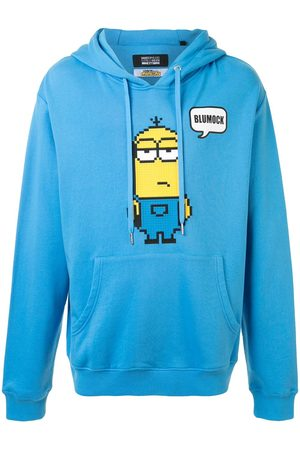 MOSTLY HEARD RARELY SEEN X Minions Kevin 8-Bit appliqué hoodie