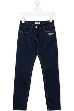 Moschino Girls Jeans - Teddy bear jeans