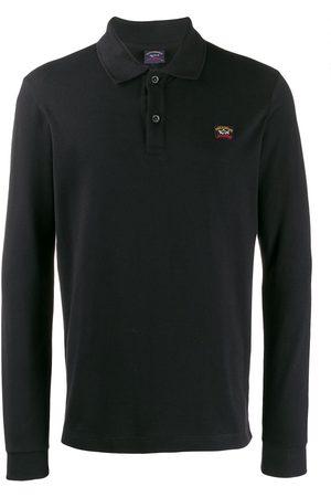 Paul & Shark Logo embroidered polo shirt