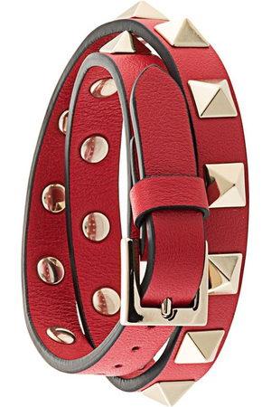 VALENTINO GARAVANI Rockstud double-strap bracelet