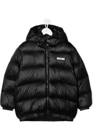 Moschino Logo-print puffer jacket