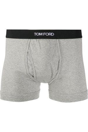 Tom Ford Logo waistband boxers - Grey