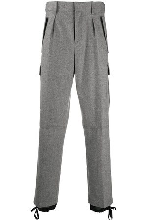 J.W.Anderson Double-hem cargo trousers - Grey
