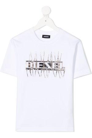 Diesel Logo embellished T-shirt