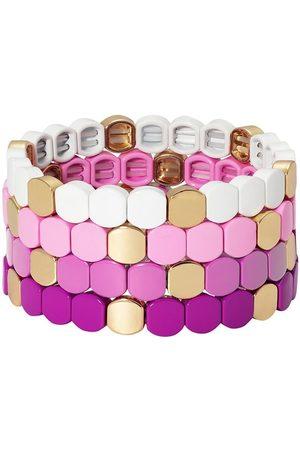 Roxanne Assoulin Purple Haze set of four bracelets