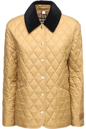 Burberry Quilted Buttoned Short Jacket