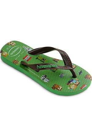 Havaianas Boys' Minecraft Flip Flops - Toddler, Little Kid