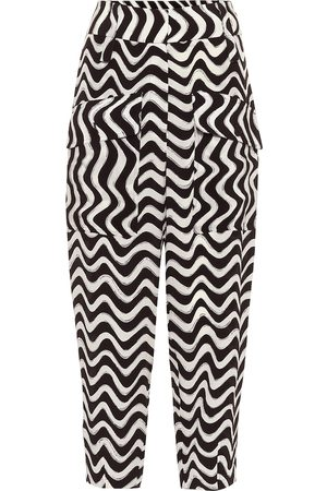 Stella McCartney Printed silk culottes