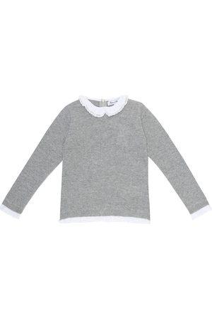 Tartine Et Chocolat Peter Pan collar wool sweater