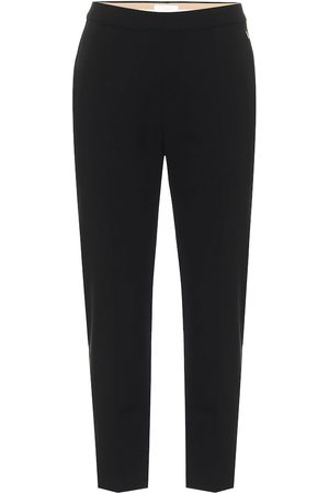Chloé Mid-rise slim stretch-wool pants