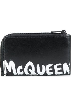 Alexander McQueen Graffiti logo cardholder