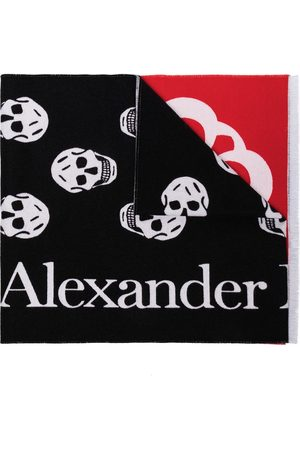 Alexander McQueen Logo-print scarf