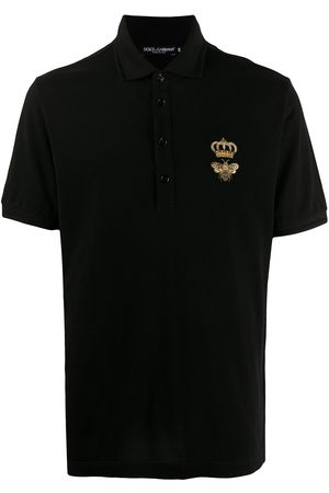 Dolce & Gabbana Logo embroidered polo shirt