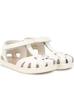 Camper Kids T-bar cat sandals - Neutrals