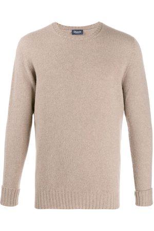DRUMOHR Men Sweatshirts - Crew neck jumper - Neutrals