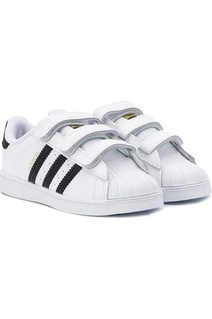 adidas Superstar touch strap sneakers