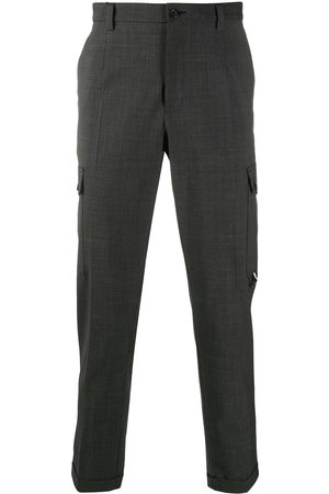 Dolce & Gabbana Mid-rise cargo trousers - Grey