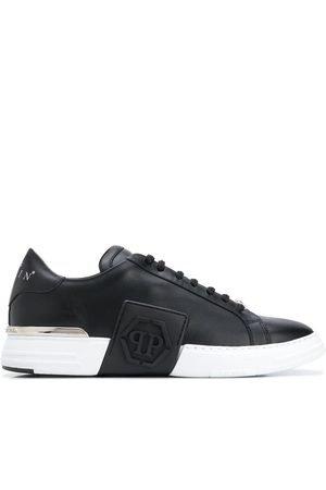 Philipp Plein Phantom Kick$ Lo-Top Leather