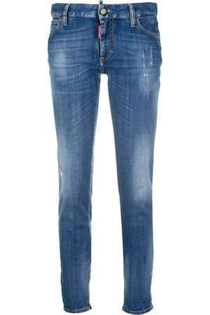 Dsquared2 Embroidered logo jeans