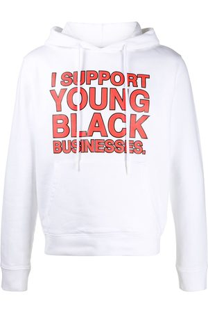 "OFF-WHITE ""I Support Young Black Businesses"" hoodie"